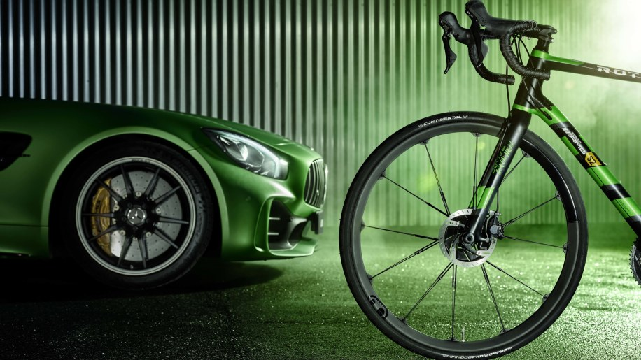 Aston martin and mercedes amg bicycles luxury branding for Mercedes benz bicycles