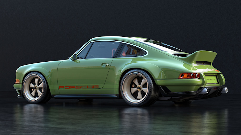 This Is The First Porsche 911 To Get Singer And Williams