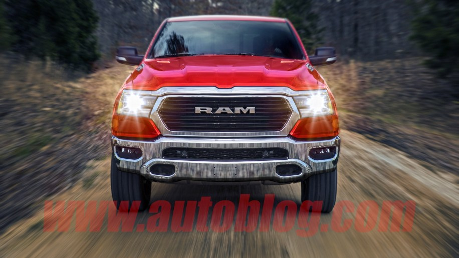 2019 Ram 1500 Artist Rendering Gives An Indication Of What We Can Expect Based On Multiple Spy Shots