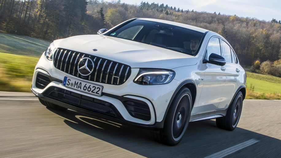 2018 mercedes-amg glc 63 s 4matic coupe review - autoblog