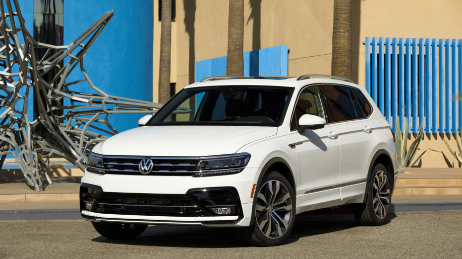 LA 2017: Volkswagen Tiguan gets R-Line cosmetic upgrades