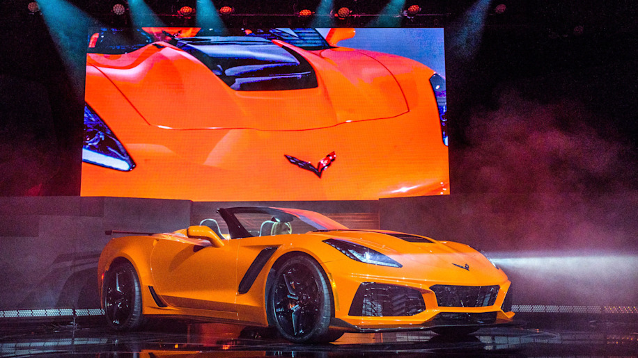 2019 Chevy Corvette ZR1 Convertible