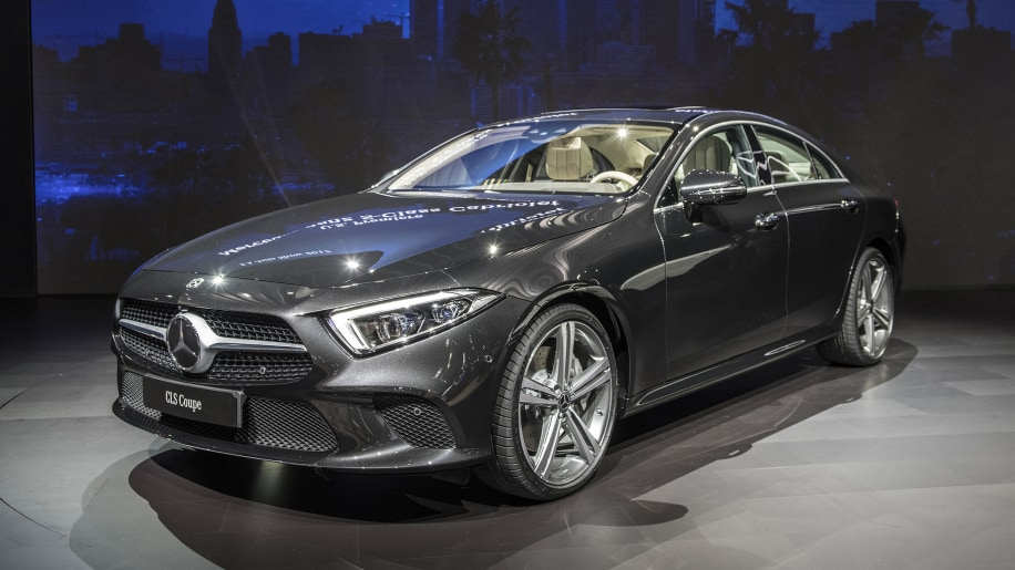 mercedes reveals the 2019 cls with an inline six engine at the l a auto show autoblog. Black Bedroom Furniture Sets. Home Design Ideas