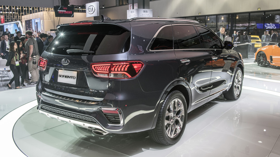 2019 Kia Sorento gets new styling and features; turbo-4 ...