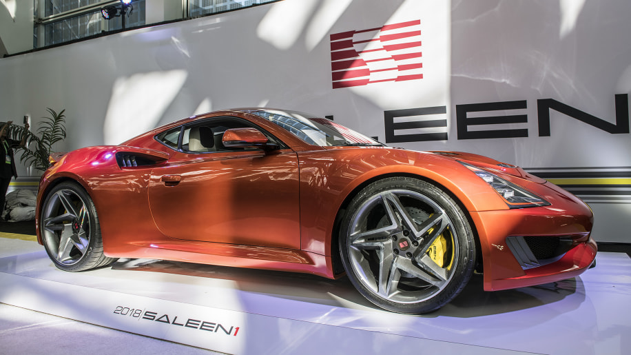 Saleen 1 is an elegant, compact sports car with a unique turbo ...