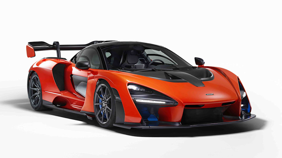 McLaren Senna, formerly P15, officially revealed. - Autoblog