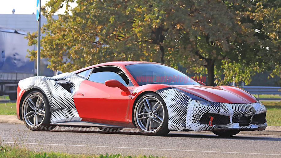 the ferrari 488 gtb could get a new variant called the 488 gto autoblog. Black Bedroom Furniture Sets. Home Design Ideas