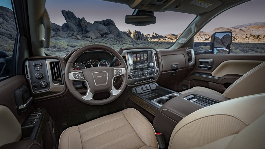The 2018 GMC Sierra Denali 1500 is the sister truck to the ...