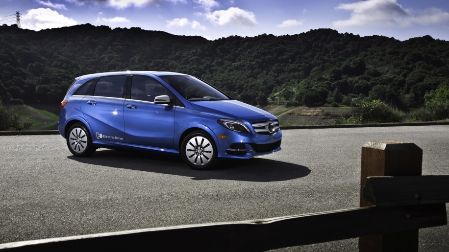 10) Mercedes-Benz B-Class Electric Drive - 744 sold