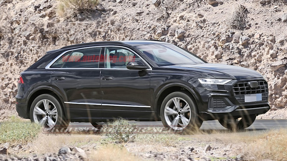 2018 Audi Q8 Caught Almost Completely Undisguised In Spy