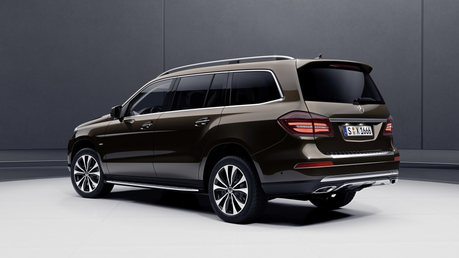2018 mercedes benz gls 450 and gls 550 grand edition photo for Mercedes benz gls 450 review