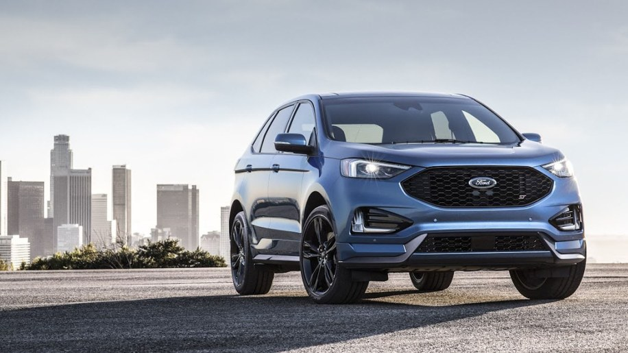2019 Ford Edge St Crossover Gets Hot Hatch Thinking More Tech