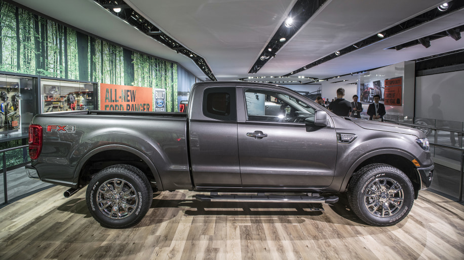 2019 Ford Ranger Is Back This Year Slotting Underneath