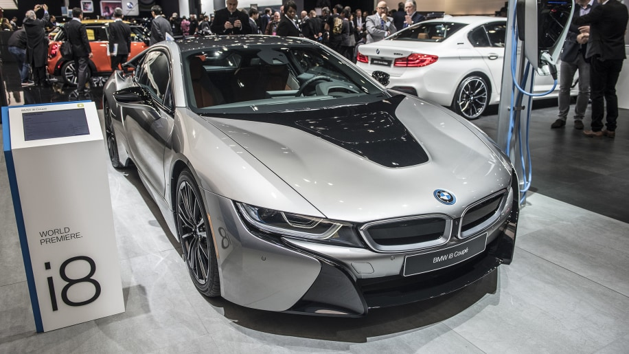 2019 BMW I8 Coupe At Detroit Auto Show