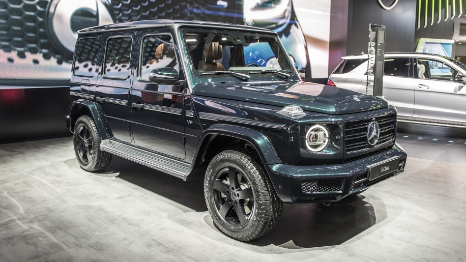 2019 Mercedes Benz G Cl Photos And Information Revealed Autoblog