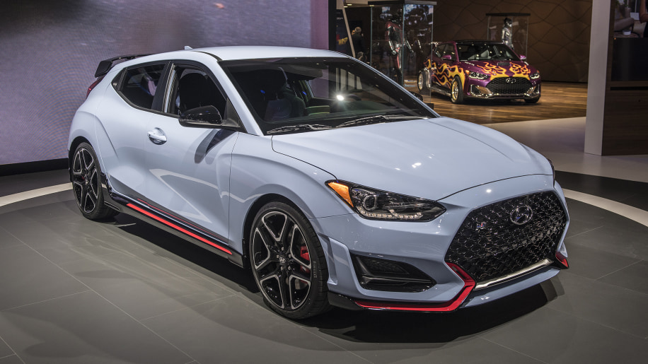 Hyundai reveals the 2019 Veloster N for the U.S. with a turbocharged