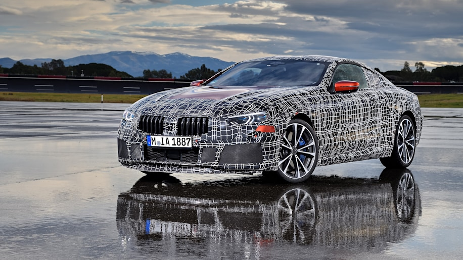 The BMW Series Gets A Shakedown At An Italian Test Track Autoblog - 8 series bmw