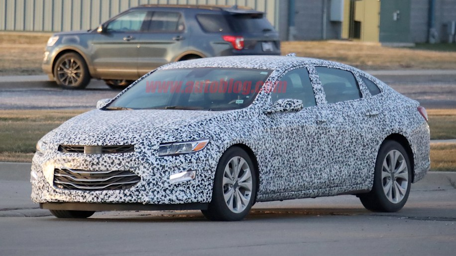 2019 Malibu >> Newest Chevy Malibu Will Have A Refreshed Grille And Lights Autoblog