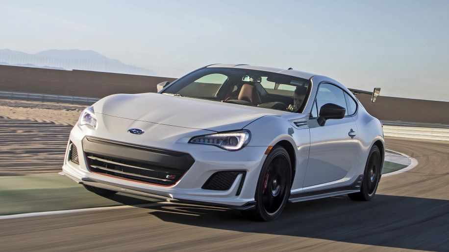 Subaru BRZ tS special edition driving review - Autoblog