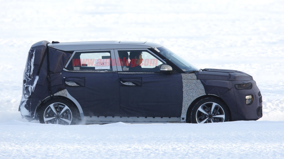 Next-generation Kia Soul retains boxy look and gains split ...