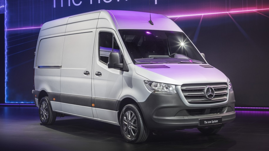 2019 mercedes benz sprinter vans are revealed with an electric version coming later autoblog. Black Bedroom Furniture Sets. Home Design Ideas