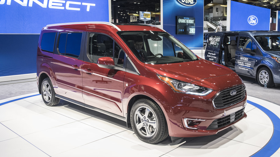 2019 ford transit connect van revealed with new gas and. Black Bedroom Furniture Sets. Home Design Ideas