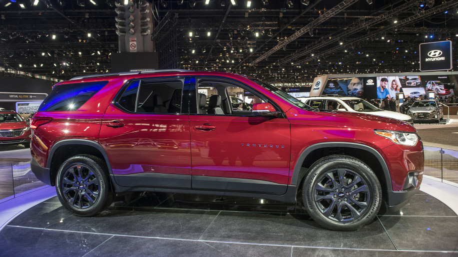 2018 Traverse Rs | Best new cars for 2018