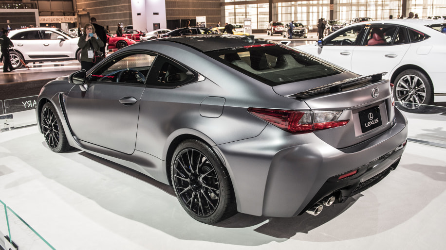 Lexus introduces RC F coupe, GS F luxury sports sedan ...