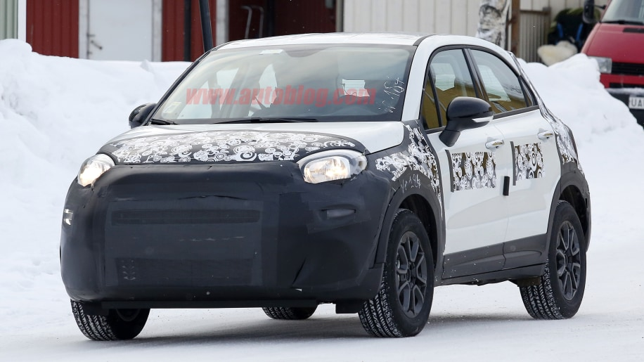 facelifted 2019 fiat 500x features new lights front and rear. Black Bedroom Furniture Sets. Home Design Ideas
