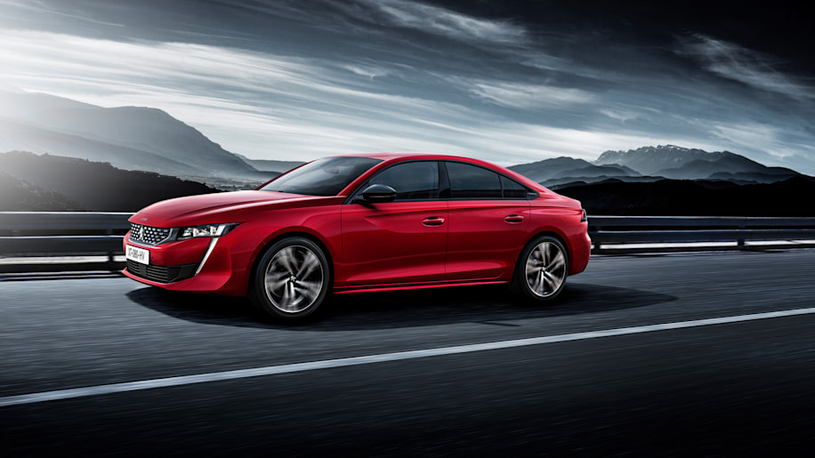 New Peugeot 508 revealed with sharp styling inside and out - Autoblog