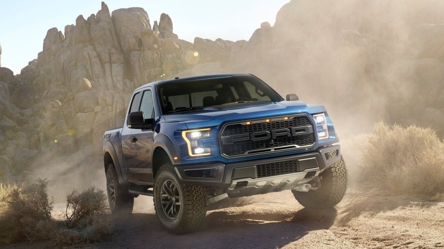 Ford Raptor pickup truck