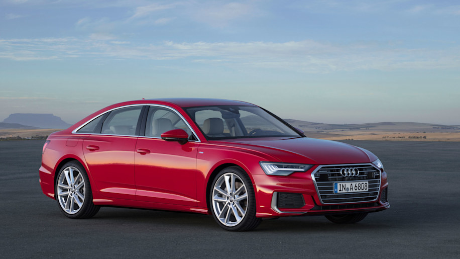 audi 39 s 2019 a6 sedan inherits its looks and tech from the a7 hatchback autoblog. Black Bedroom Furniture Sets. Home Design Ideas