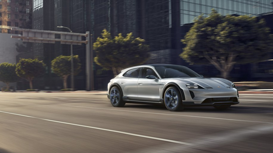 Porsche introduces the all-electric Mission E Cross Turismo
