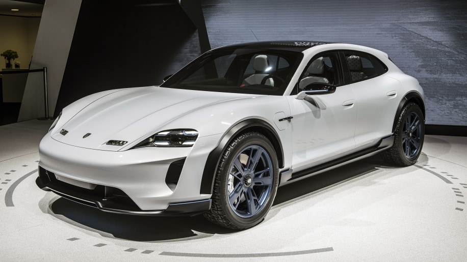 Porsche Mission E Cross Turismo EV debuts in Geneva ...