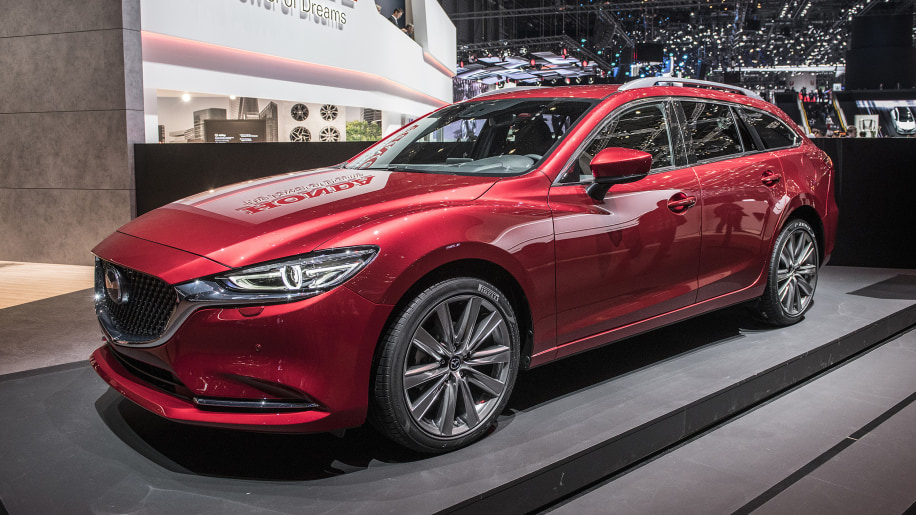 mazda6 wagon revealed at the geneva motor show autoblog. Black Bedroom Furniture Sets. Home Design Ideas