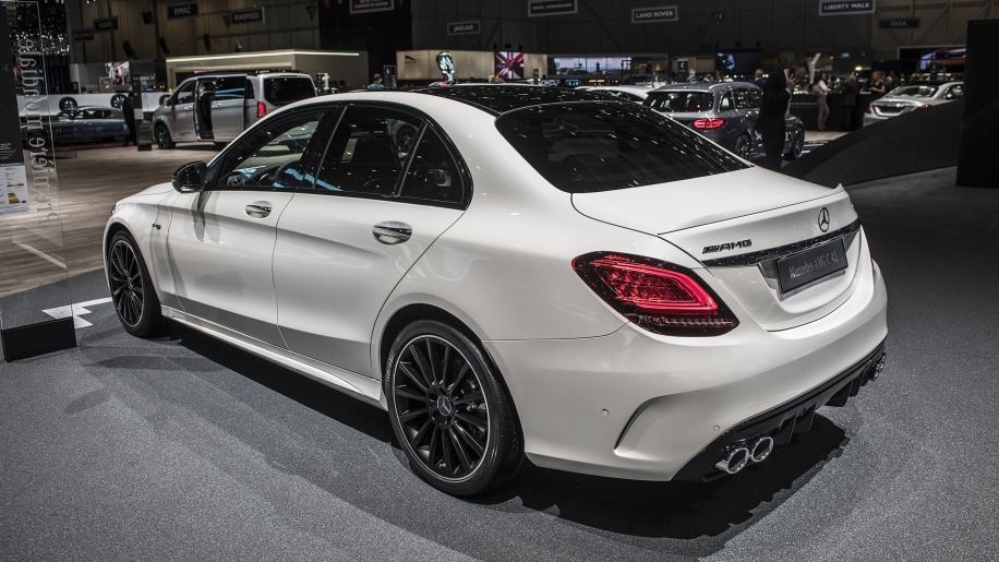 2019 mercedes amg c43 revealed ahead of geneva motor show autoblog. Black Bedroom Furniture Sets. Home Design Ideas
