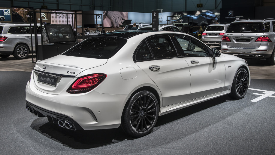 2019 mercedes amg c43 revealed ahead of geneva motor show for Mercedes benz c43 amg