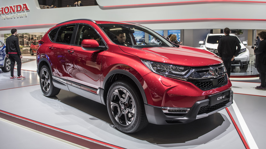 honda announces three row cr v and cr v hybrid launch date autoblog. Black Bedroom Furniture Sets. Home Design Ideas