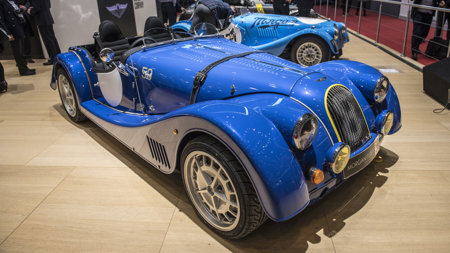 50th anniversary edition morgan plus 8 will be last with bmw v8 autoblog. Black Bedroom Furniture Sets. Home Design Ideas
