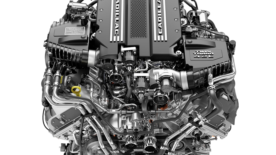 Cadillac to Corvette: You're not getting our twin-turbo V8 engine