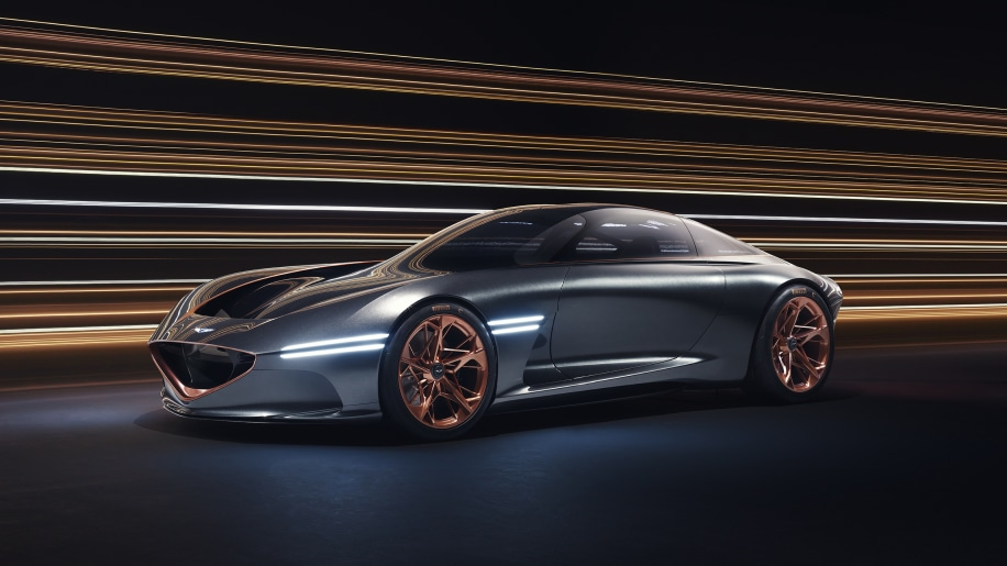 Genesis' Electric Luxury Sports Car Features Biometrics