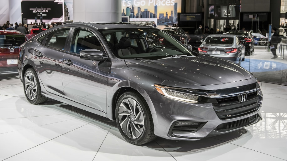 Honda Reveals 2019 Insight Hybrid For New York Show