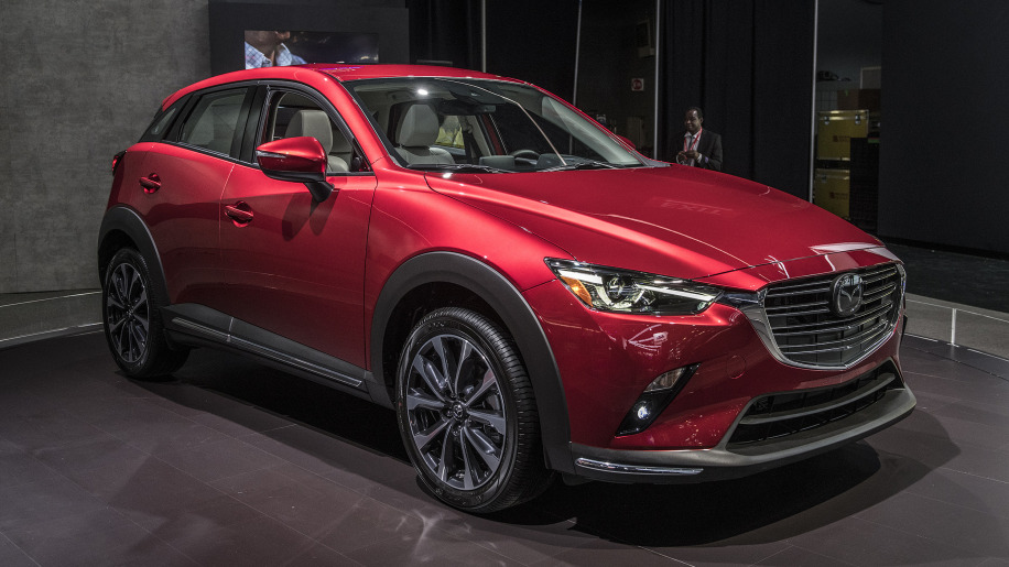 Mazda CX-3 compact crossover updated for 2019 - Autoblog