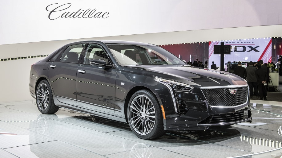 cadillac launches ct6 v-sport with hot 550-horsepower twin-turbo v8