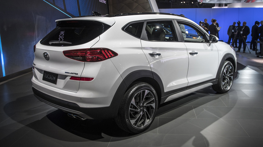 2019 hyundai tucson refresh revealed at new york auto show. Black Bedroom Furniture Sets. Home Design Ideas