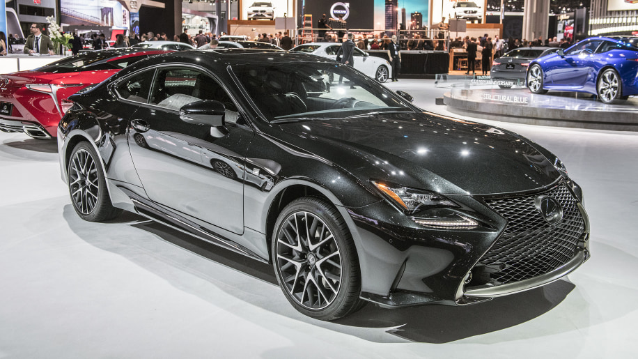 Lexus Rc Coupe Black Line Special Edition Limited To Just 650 Units