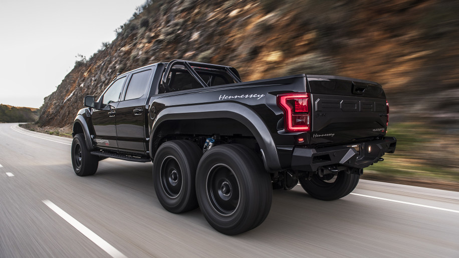 Hennessey VelociRaptor 6x6 modified Ford F-150 road test review - Autoblog