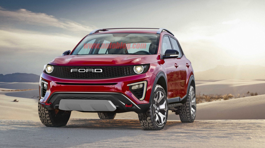 Best Gas Prices >> Ford Baby Bronco renders and speculation on specs, features - Autoblog