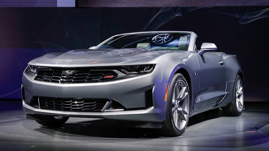 "Camaro Del 68 >> 2019 Chevy Camaro Reveals Radical New Faces, New 4cyl Pkg, ""Pretty Drastic Overhaul"""