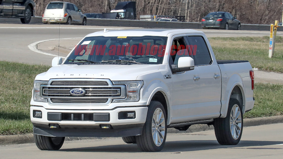 2019 Ford F-150 gets updated styling similar to crosstown rivals - Autoblog